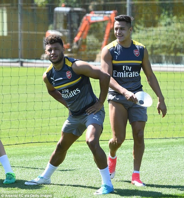 Sanchez tro tai lam thu mon truoc them chung ket FA Cup hinh anh 1