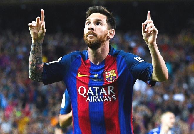 Messi ruc sang giup Barca bao ve chuc vo dich Cup nha vua hinh anh