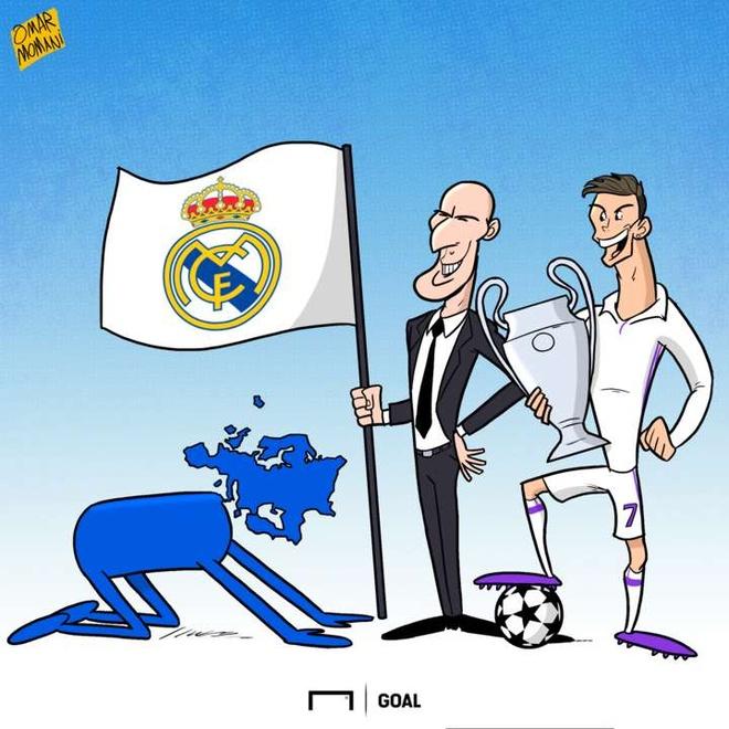 Hi hoa chau Au quy goi truoc nha vo dich Ronaldo, Zidane hinh anh 1
