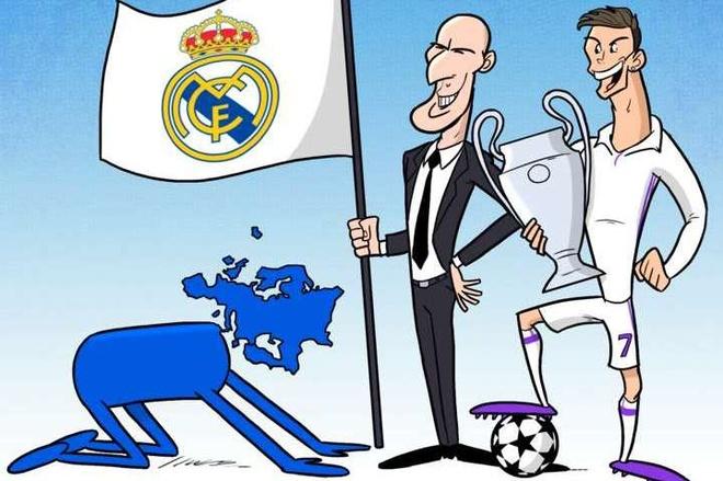 Hi hoa chau Au quy goi truoc nha vo dich Ronaldo, Zidane hinh anh