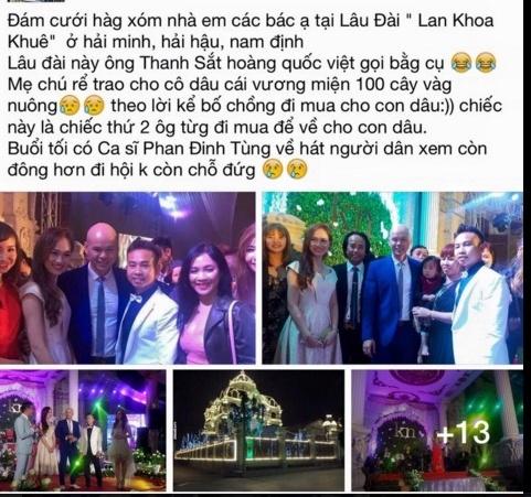 Dam cuoi o Nam Dinh thu hut dan mang hinh anh 1