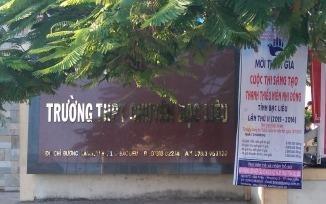 Truong THPT chuyen Bac Lieu da go bo thong bao 'la' hinh anh