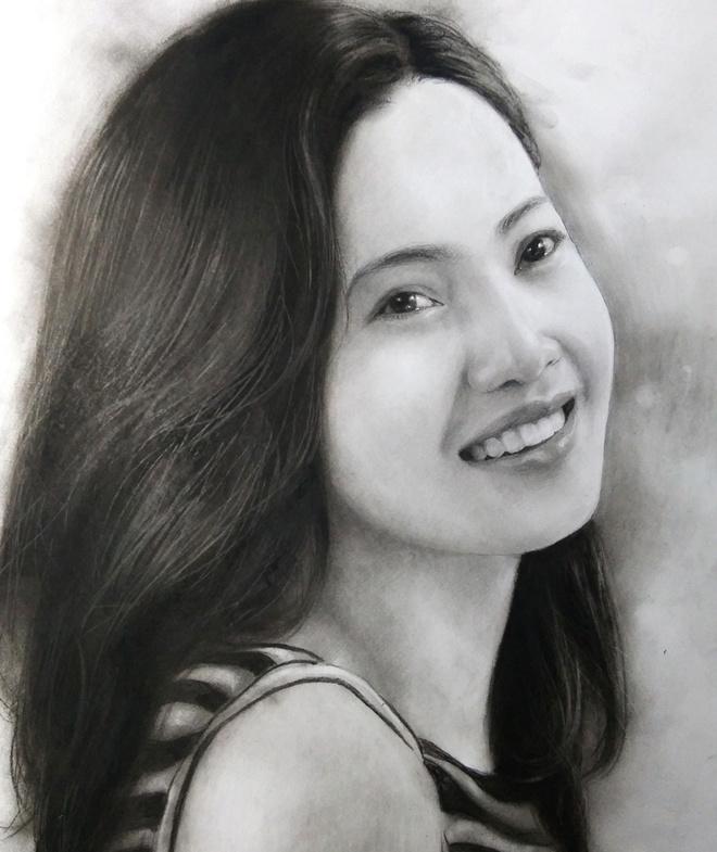 9X Bac Giang ve tranh den trang song dong nhu that hinh anh 4