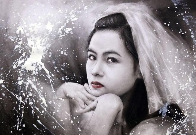 9X Bac Giang ve tranh den trang song dong nhu that hinh anh 3