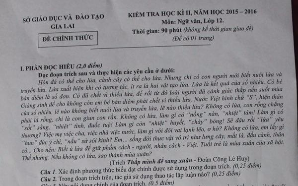 Tinh uy Gia Lai chi dao giai trinh vu de thi 'danh vong' hinh anh