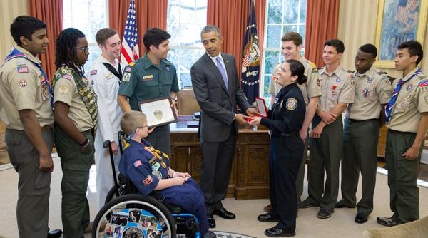 5 ban tre Viet tung gap truc tiep Tong thong Obama hinh anh 8