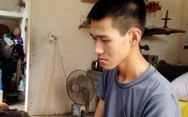 Chang trai ngheo mac trong benh vuot kho hoc gioi hinh anh