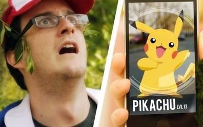 Lo chan vuot bien, dung phai xac chet vi mai bat Pokemon hinh anh