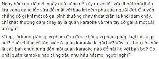 Co gai coi ao nguc bit mui chay khoi quan karaoke dang chay hinh anh 2