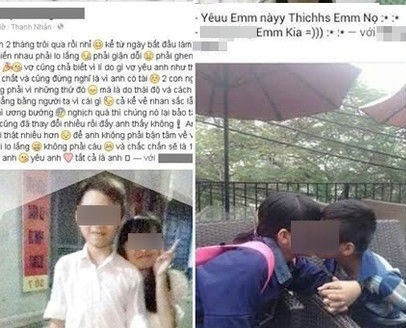 Hoc sinh lop 8 quy goi to tinh tai truong anh 2