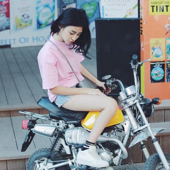 Hot girl lai Phap duoc coi nhu ban sao cua Kha Ngan hinh anh 9