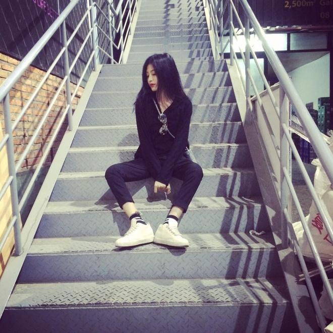 Hot girl lai Phap duoc coi nhu ban sao cua Kha Ngan hinh anh 10