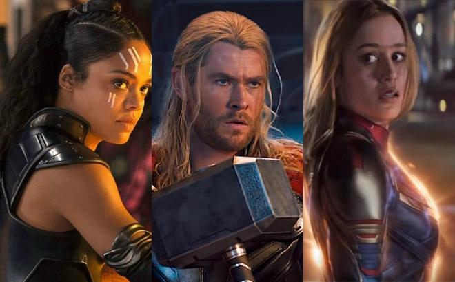 Nen co phim ve tinh tay ba giua Thor - Captain Marvel - Valkyrie? hinh anh 2