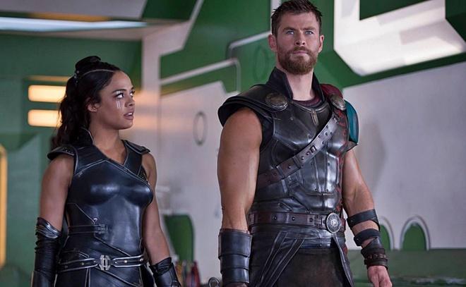 Nen co phim ve tinh tay ba giua Thor - Captain Marvel - Valkyrie? hinh anh 1