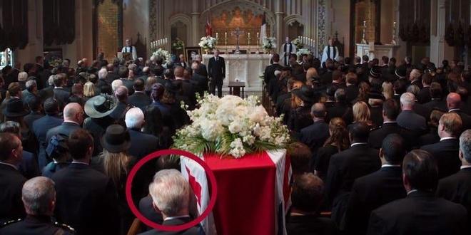 Ong gia Captain America tung xuat hien trong tang le cua Peggy Carter? hinh anh 2