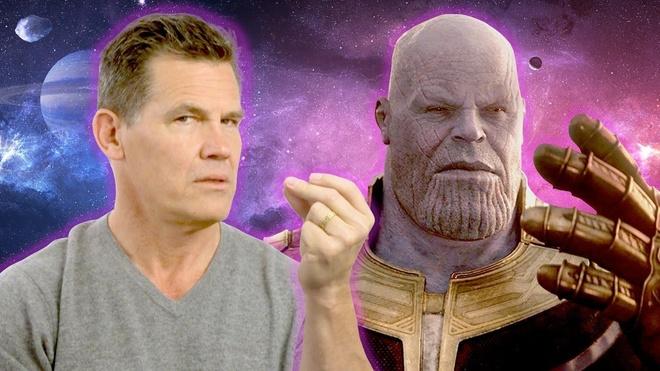 Joker,  Thanos,  Avengers: Endgame anh 1