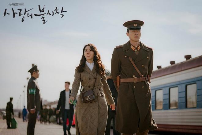 Ha canh noi anh,  Hyun Bin,  Son Ye Jin,  Song Hye Kyo,  Crash Landing on You anh 1