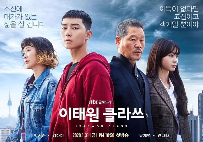Tang lop Itaewon,  Itaewon Class,  Park Seo Joon,  Kim Da Mi,  Kwon Nara anh 1
