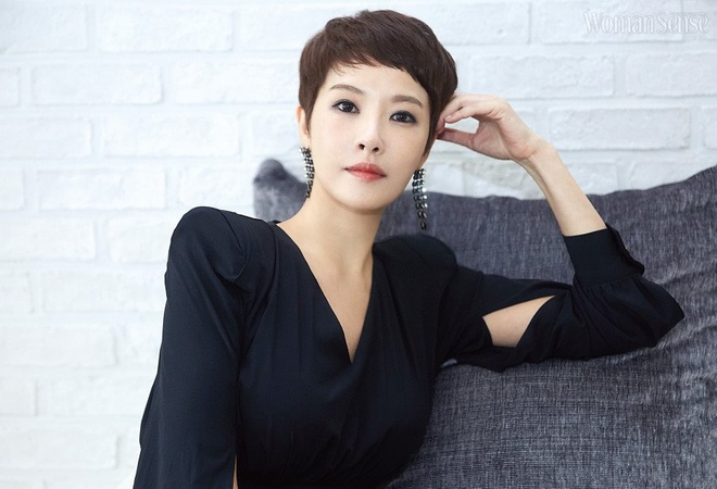 Tuoi 45 cua nang 'Kim Sam Soon' sanh vai Hyun Bin mot thoi hinh anh 4 Kim_Sun_Ah_1.jpg