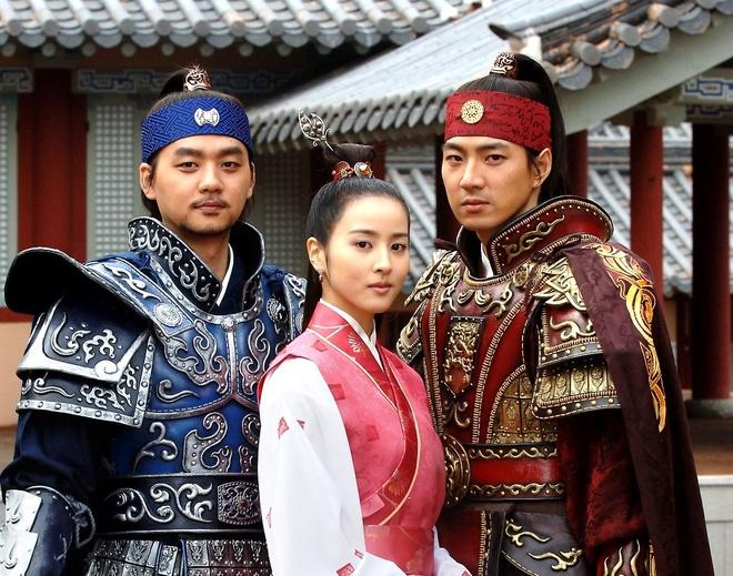 Truyen thuyet Ju Mong,  Goo Hye Sun,  Lee Min Ho anh 1