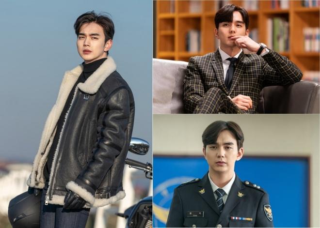Yoo Seung Ho,  Lee Sung Kyung,  Go Ara anh 1