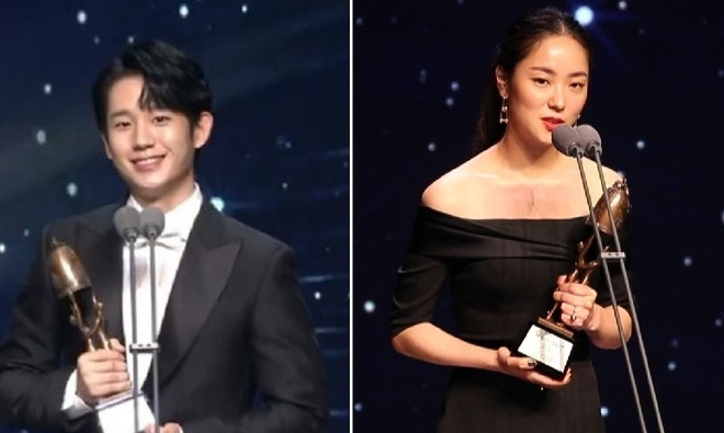 Oscar,  giai dien anh Chuong vang,  Lee Byung Hun,  Parasite anh 6