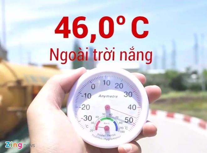 Khi Ha Noi nong ky luc: Yen xe may 68 do C, oto 72 do C hinh anh
