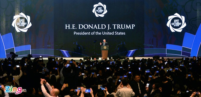 Video Tong thong Trump noi ve Hai Ba Trung va tinh than dan toc hinh anh