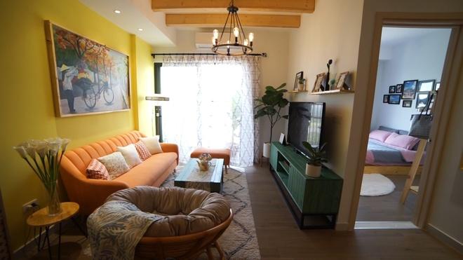 Căn hộ 50 m2 phong cách miền nhiệt đới