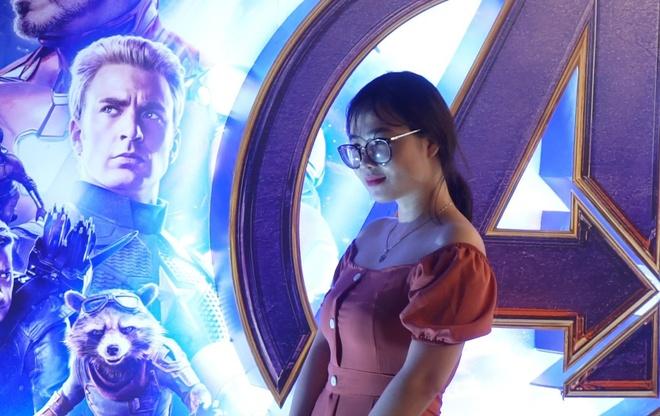 Rap kin cho o suat chieu som bom tan 'Avengers: Endgame' tai Ha Noi hinh anh