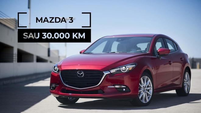 Danh gia 'sedan quoc dan' Mazda 3 sau 30.000 km hinh anh