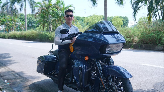 Trai nghiem Harley-Davidson Road Glide - 'phi thuyen' gia 1,3 ty hinh anh