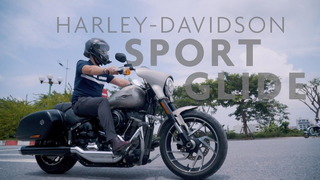 Harley-Davidson Sport Glide gia gan 1 ty, de bien hinh theo y chu nhan hinh anh