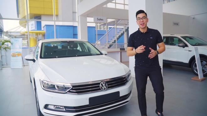 Trai nghiem Volkswagen Passat - khung vo chac chan, tre chan ga lon hinh anh