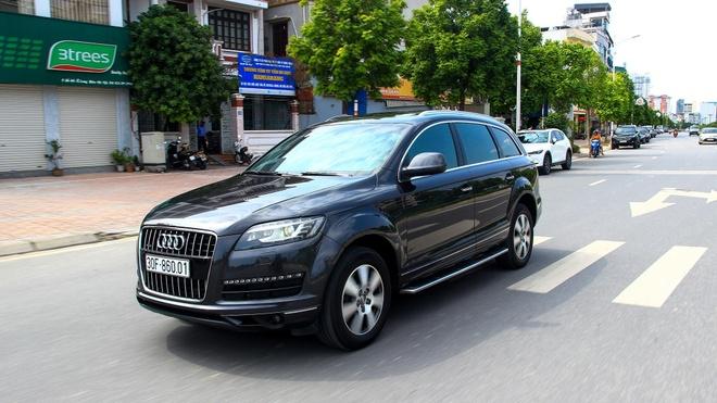 Audi Q7 con lai gi sau gan 10 nam lan banh tai Viet Nam? hinh anh