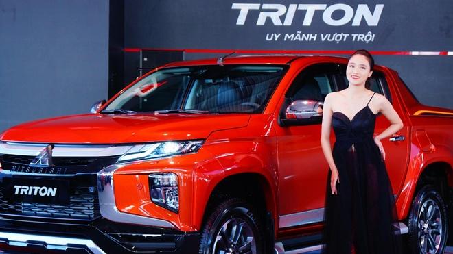 Trai nghiem nhanh Mitsubishi Triton 2020 ban cao cap gia 865 trieu hinh anh