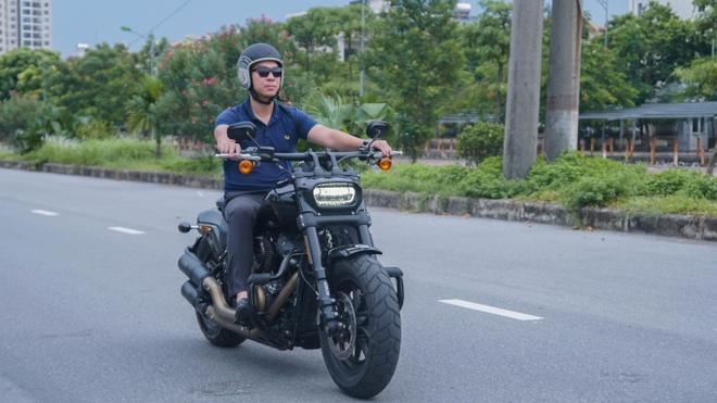 Trai nghiem Harley-Davidson Fat Bob 2019 - gan 700 trieu, ngap chat My hinh anh
