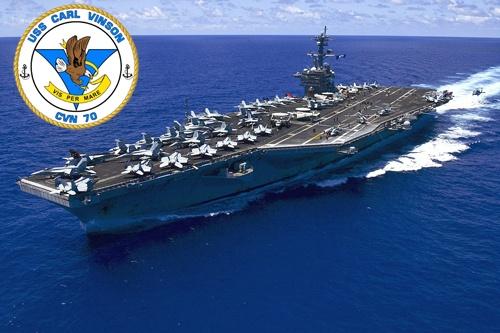 Y nghia con dau cua tau san bay USS Carl Vinson hinh anh