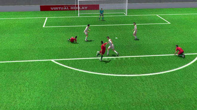 Highlights 3D: Ronaldo choi sang lay 1 diem tu Tay Ban Nha hinh anh