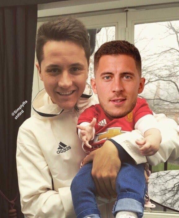 Hazard bi che nhao la 'dua be' trong tay Herrera hinh anh 1
