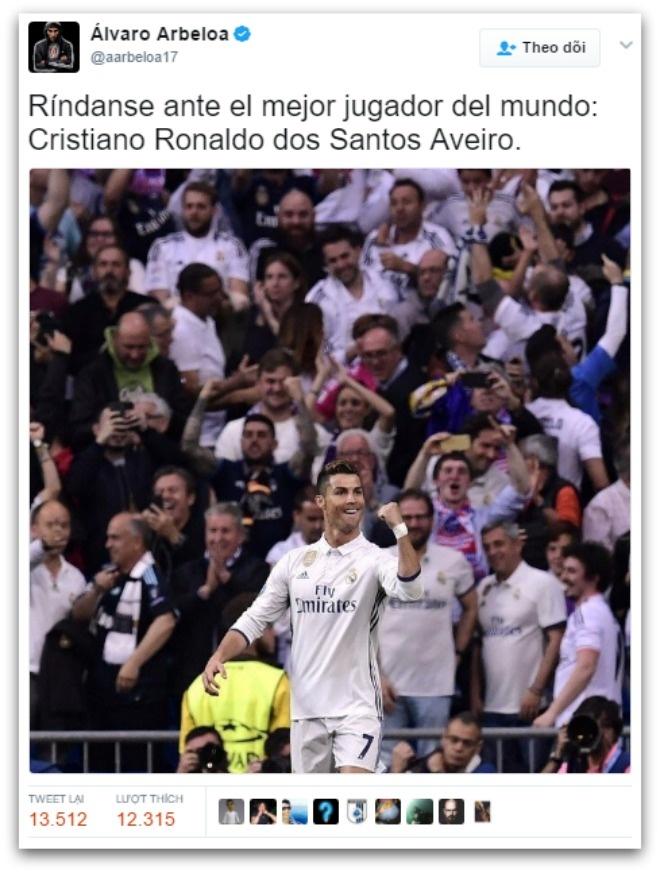 Ronaldo ghi hat-trick anh 3