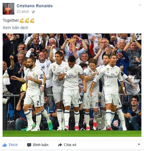 Toa sang ruc ro, Ronaldo van khiem ton ngoi ca dong doi hinh anh 1