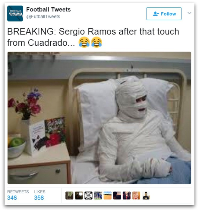 Binh luan vien buc xuc voi 'man an va dang khinh' cua Sergio Ramos hinh anh 7
