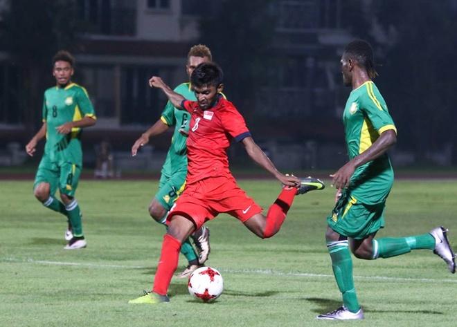 Pha solo ghi ban ngoan muc cua Hanafi vao luoi U20 Vanuatu hinh anh