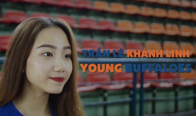 Cheerleader Khanh Linh tra loi nhanh ve ban than hinh anh