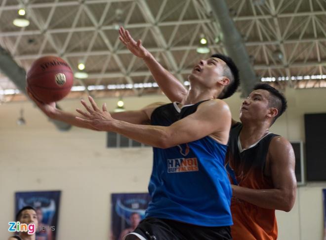 Vincent Nguyen, Hoang Ca tich cuc tap luyen nham phuc han TL Warriors hinh anh 13