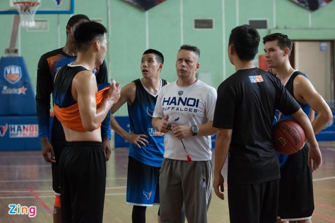Vincent Nguyen, Hoang Ca tich cuc tap luyen nham phuc han TL Warriors hinh anh 16