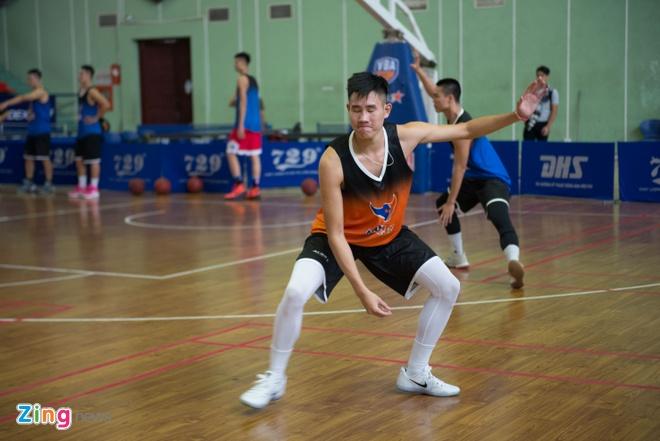 Vincent Nguyen, Hoang Ca tich cuc tap luyen nham phuc han TL Warriors hinh anh 5