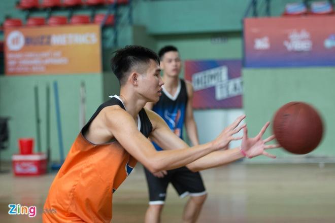 Vincent Nguyen, Hoang Ca tich cuc tap luyen nham phuc han TL Warriors hinh anh 8