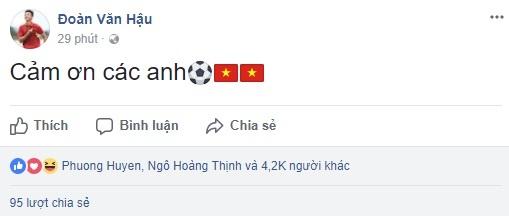 Cong Vinh, Thanh Trung tu hao voi chien cong cua U23 Viet Nam hinh anh 2